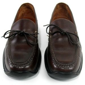 Cole Haan Country Leather Stitched Loafers Sz 9 M